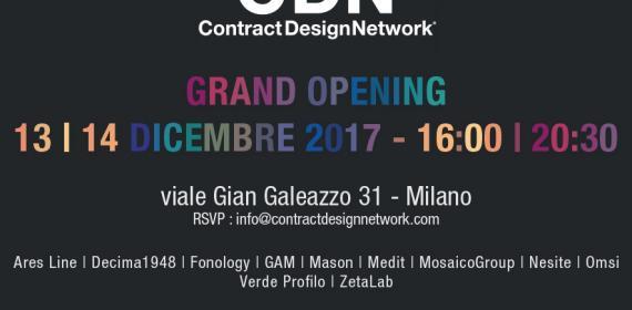 GRAND OPENING_CASA CDN MILANO 13-14 DICEMBRE 2017