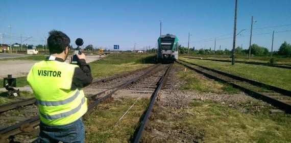 Z Lab-laboratorio-acustica-RAMS-accreditato-prove acustiche su treno ATR 125.101 GTW412